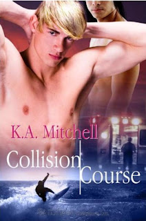 COLLISION COURSE by K.A. Mitchell