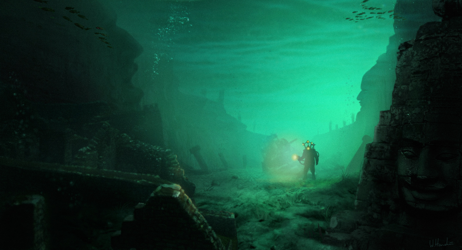 in search of the sunken city of atlantis Often called the atlantis of the east by travellers, the underwater city of shicheng is a magnificent, mysterious time capsule of imperial china stone architecture dating to the ming and.