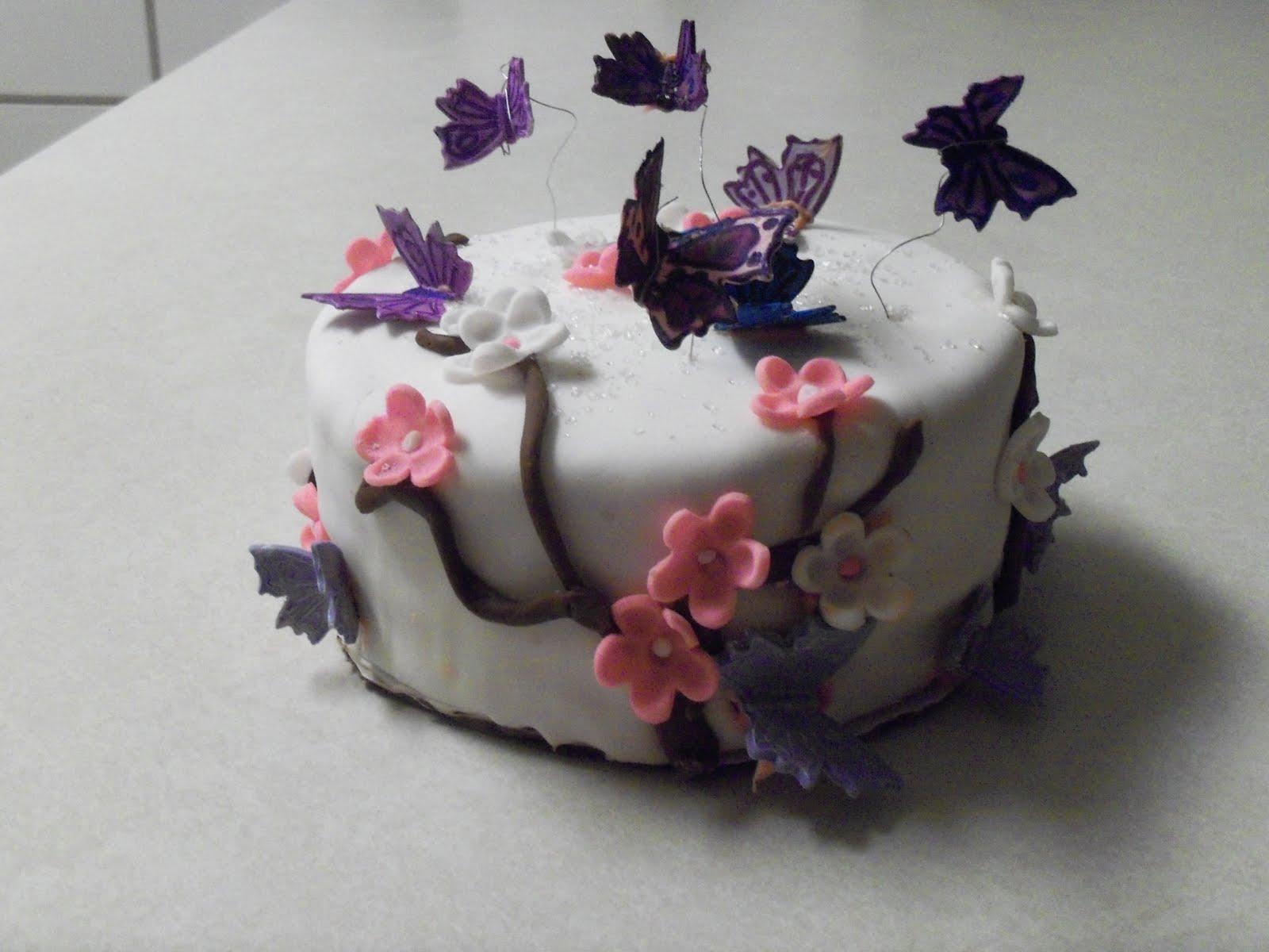 Michaelinas Cakes jojom333yahoocom Butterfly Birthday Cake