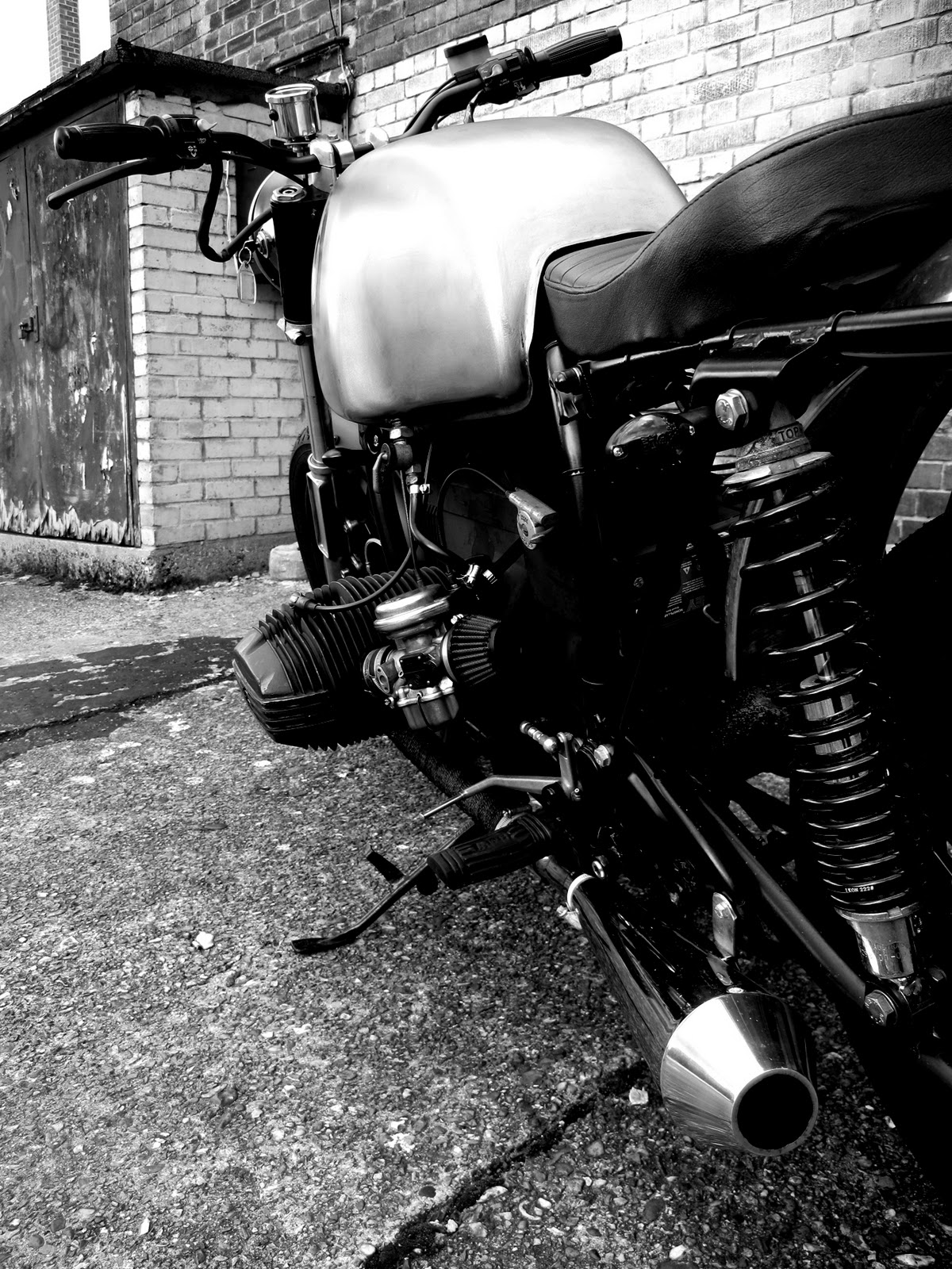 Cafe Beemers  BMW R80 7 by Untitled Motorcycles  Midlife Crisis