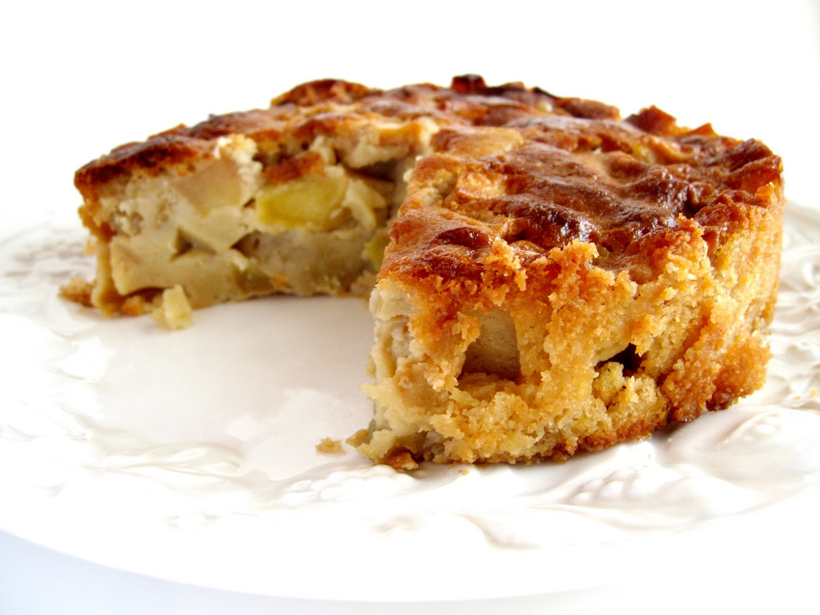 Apricosa: French apple cake for the Fall