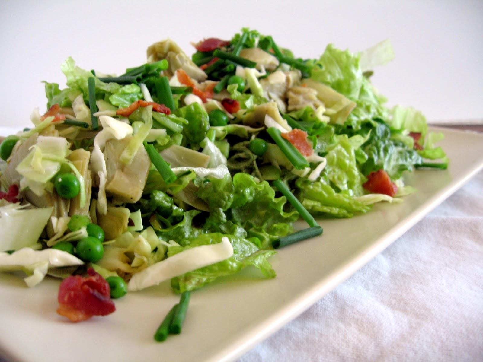 Салат из консервированных артишоков рецепт