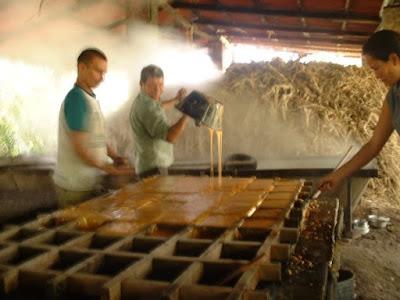 Colombie - Fabrique de caramel