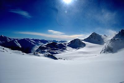 France - Val thorens ...glacier de chaviére