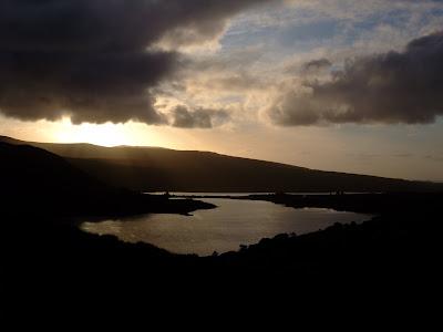 Irlande - Coucher de soleil sur le Donegal