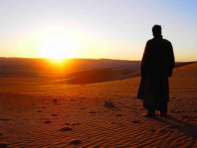 Libye - Kalifa priere du matin