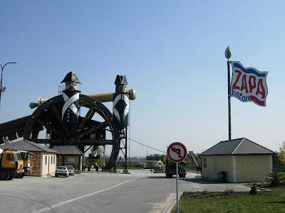 République Tcheque - Usine à béton près d'Austerlitz