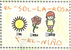 EL SOL,LA ROSA Y EL NIÑO