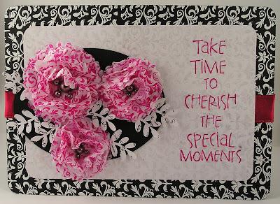 Hot Pink Flower Background