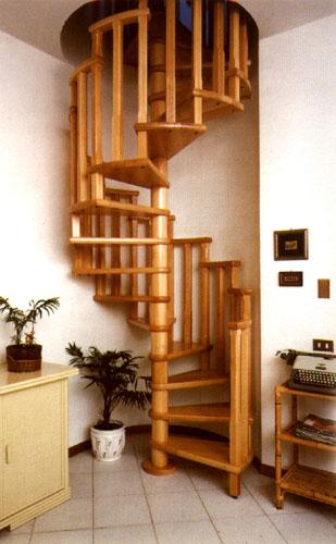 El mueble escaleras - Escaleras de caracol de madera ...