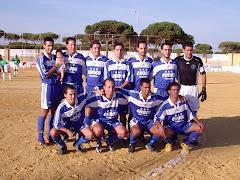 Primer partido oficial del C.F Mazagon en regional preferente.