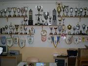 Sala de trofeo del Isla Cristina C.F