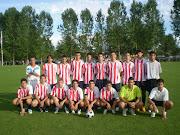 De mister con el Huelva Atletico,cadete.