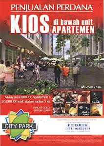 Kios Apartemen City Park