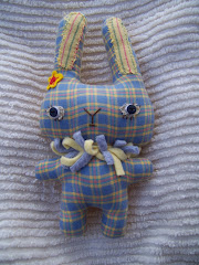 Blue and Yellow Bunny