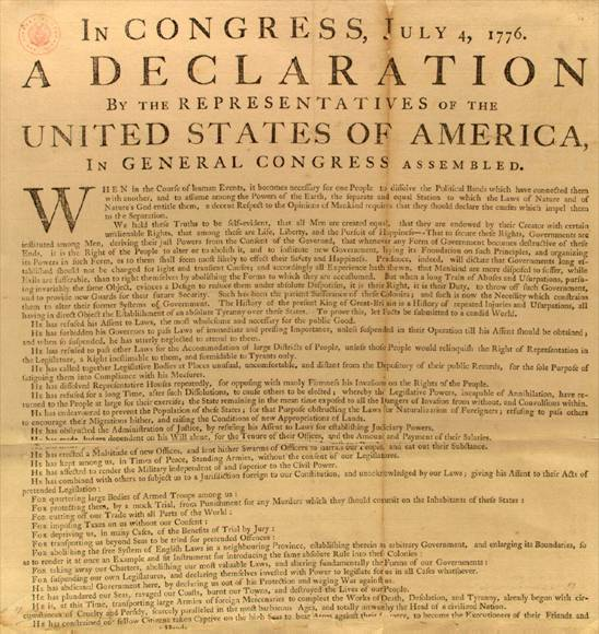 understanding the declaration of independence Understanding the declaration of independence 1 john locke's second treatise on government, section 225, 1690, in this excerpt, locke explains under what circumstances the people have the right to alter their form of government.