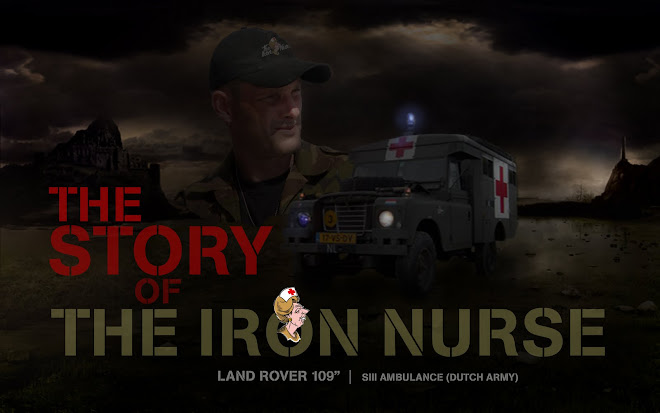 Ambulance SIII Land Rover 109 The Iron Nurse