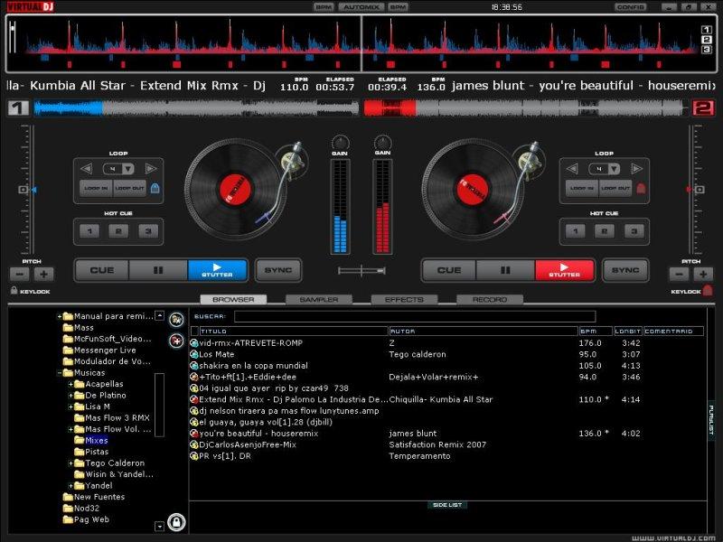 Atomix virtual dj 5.2 effects new 2017