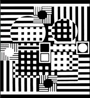 formes géometriques et Vasarely