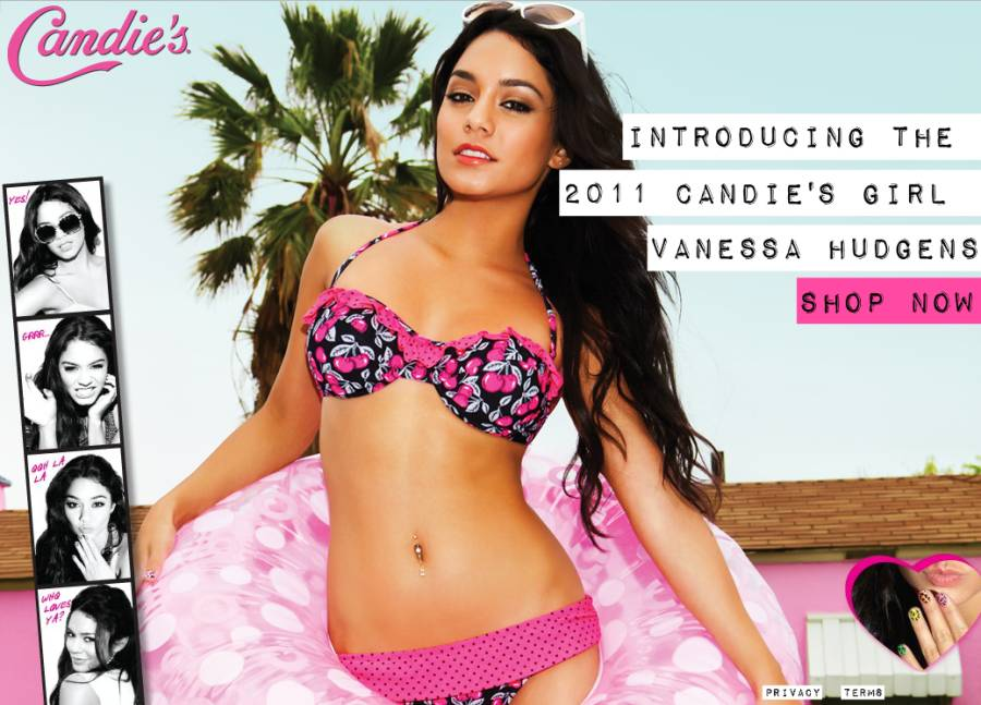 vanessa hudgens candies photo shoot