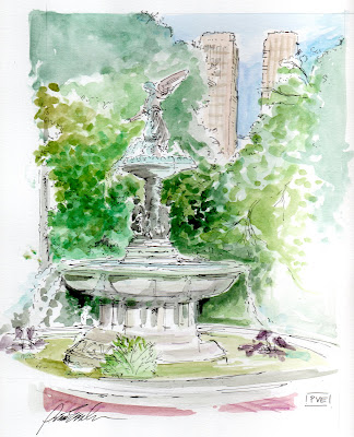 bethesda fountain central park nyc. ethesda fountain central park