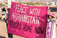 PEACE WITH AFGHANISTAN