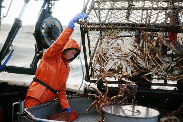 Alaskan King Crab Fishing Alaskan King Crab Renowned