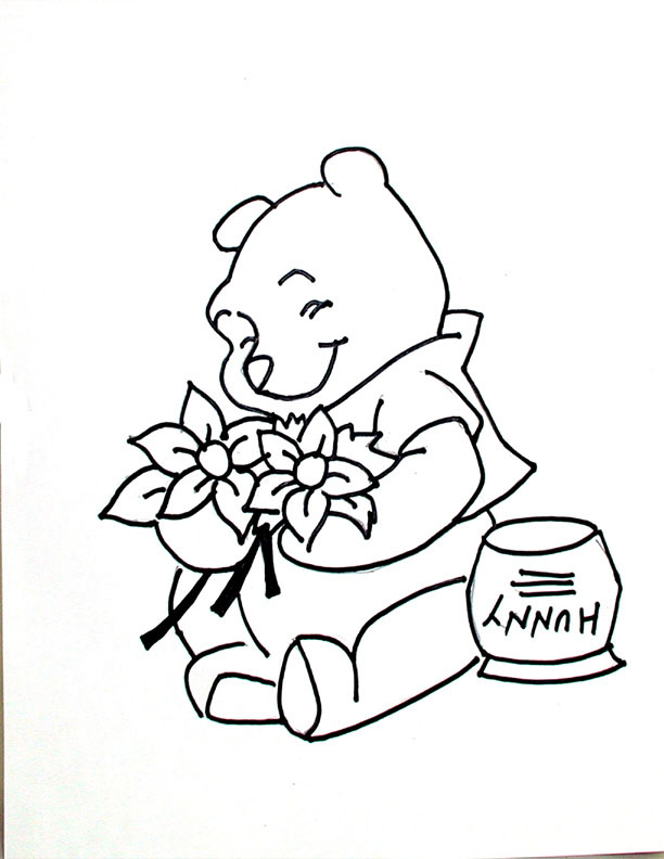 mrs honey coloring pages - photo#16