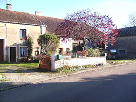 zicht op ons franse huis herfst 2008