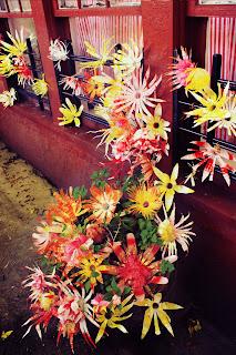 garbage flowers