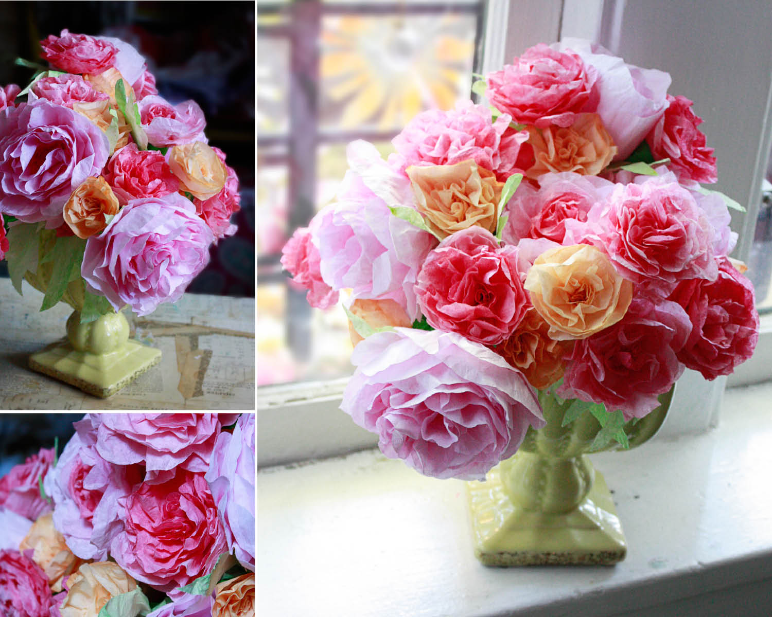 Coffee filter roses aunt peaches coffee filter roses mightylinksfo Images