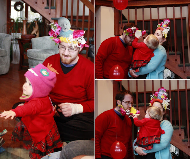 Bubba Kerry And Abigail Celebrate The Day In Style Was Fascinated By All Adults Wearing Hats On Her Birthday But They Only One She Would Put