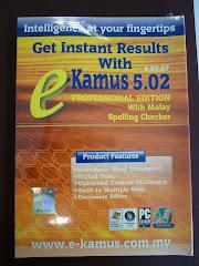 E-Kamus 5.02 Professional Edition ( 18 KAMUS DALAM 1)