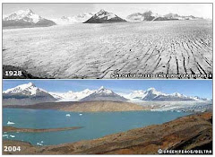 Recuo da geleira de Upsala, Argentina