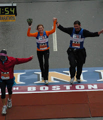 Heather's first Boston Marathon (2007)