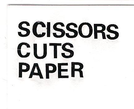 Scissors Cuts Paper