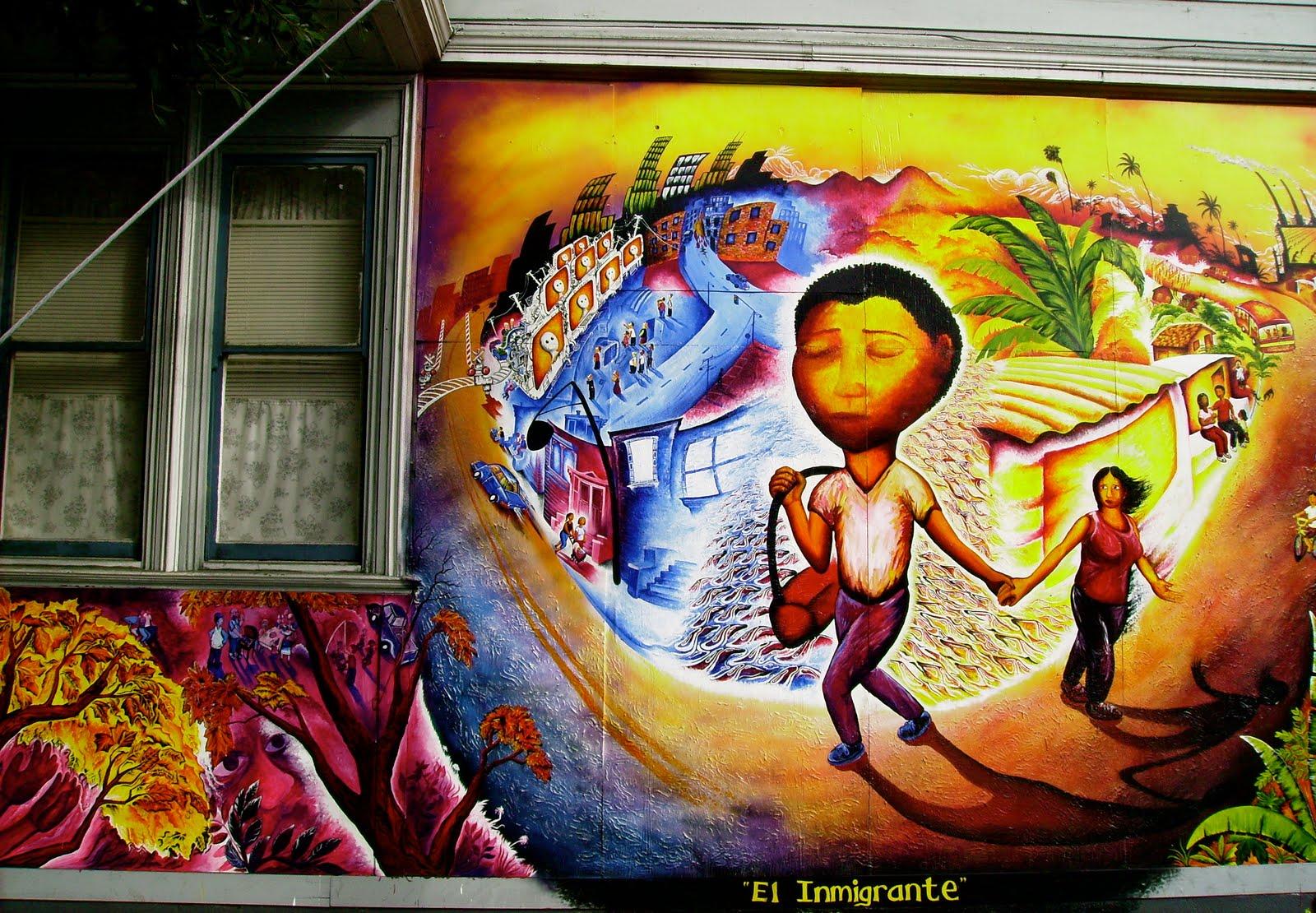 Joel bergner los murales de la misi n san francisco 2003 for El mural pelicula online