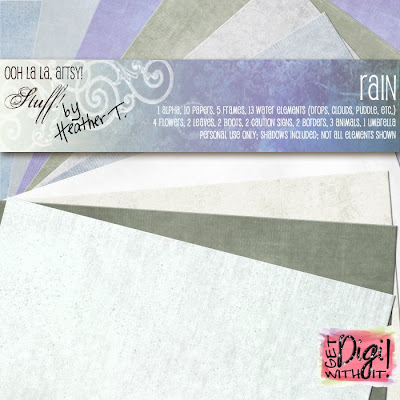 Heather T., Rain Kit Papers