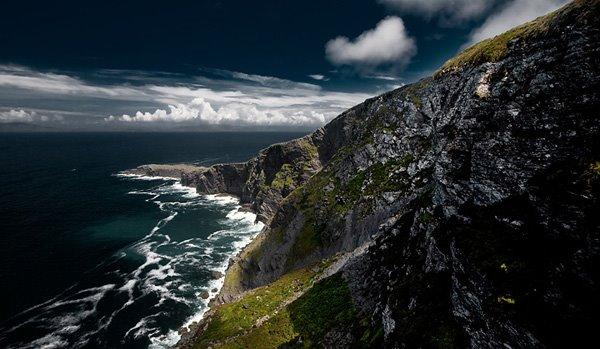 """""""Fogher Cliffs"""" zu Valentia Island (esou richteg well)"""