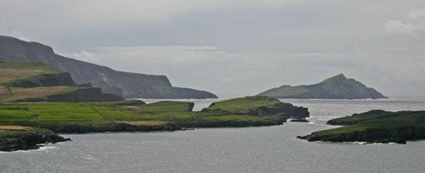 Horse Island, wann een mam Boot zu Portmagee eraus fiirt