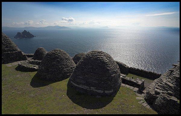 Desen weltberuhmten pre-monastic site aus dem 6 Jorhonnert