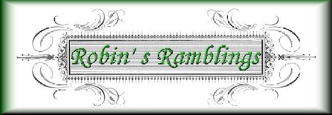 Robin's Ramblings