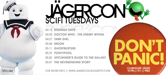 JagerCon: Sci-Fi Tuesdays