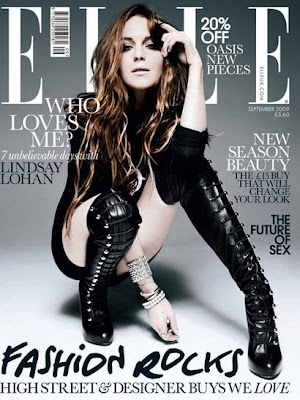 Lindsay Lohan for ELLE @fashionpickles