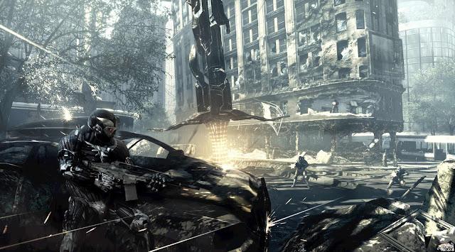 wallpaper pc games. Crysis 2 Game By Crytek Engine