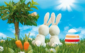 Wallpaper Hd Black Easter Eggs And Bunnies High Definition Wallpapers