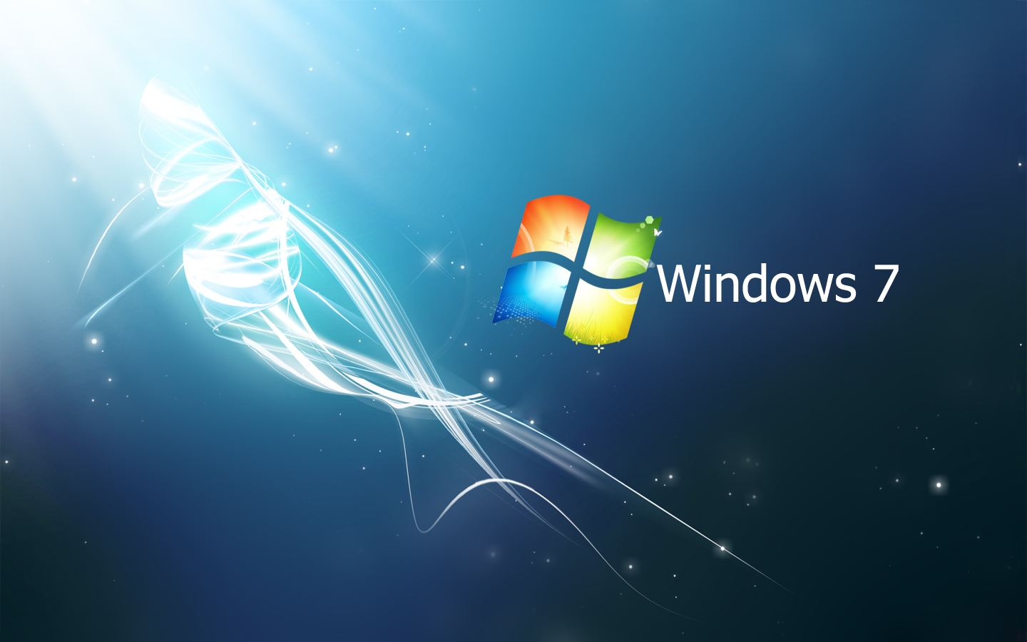 wallpaper: windows 7 crystal pack : blue - green - red hd wallpapers