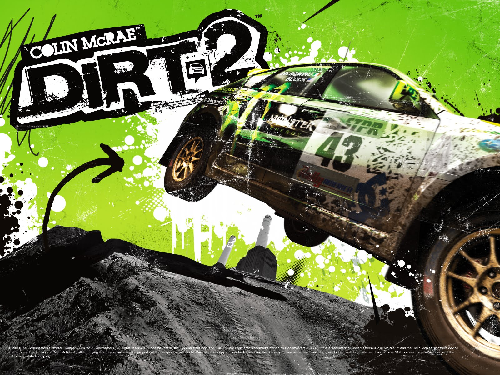 wallpapers box colin mcrae dirt 2 game hd wallpapers. Black Bedroom Furniture Sets. Home Design Ideas