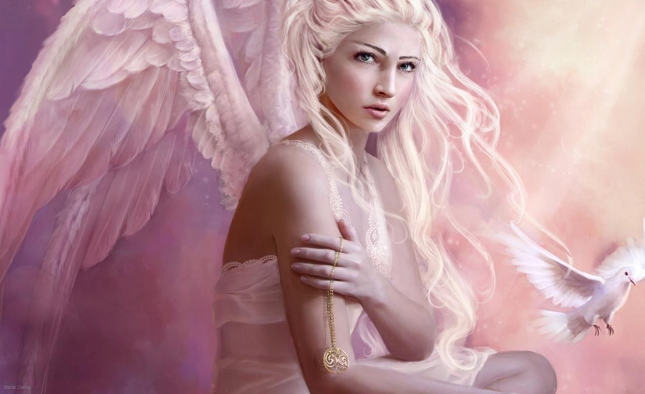 Fantasy Girl : Angel HD Wallpaper