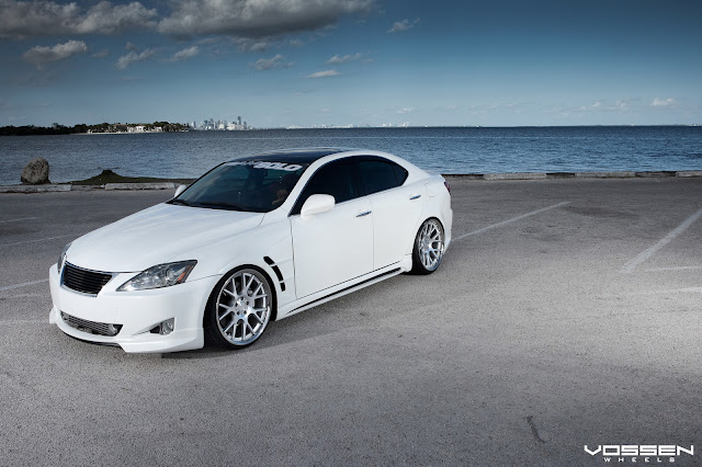 Lexus IS 350 Tuning Vossen Wheels   Cars   Auto   Moto